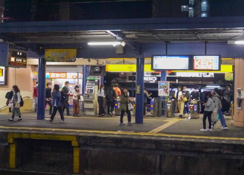 10/22(木)16:39ごろ、萱島駅で人身事故が発生。17:03現在京阪線が ...